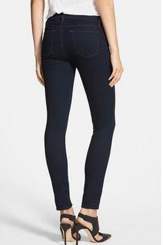"""J Brand"" Skinny leg ink stretch denim skinny jeans worn by Olivia Pope (Kerry Washington) on Scandal season Denim Skinny Jeans, Black Jeans, Olivia Pope Style, J Brand, Skinny Legs, Stretch Jeans, Autumn Fashion, Nordstrom, Mens Fashion"