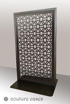 CLOUT freestanding laser cut metal panels