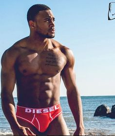 (100+) sexy black men | Tumblr not sure who he is but I like him lol
