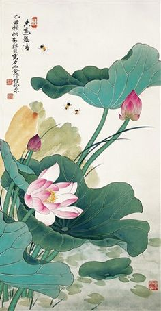 Lotus by Yu Zhizhen and Liu Lishang