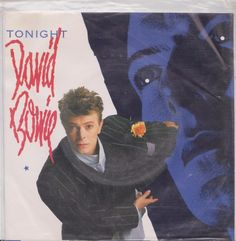"""DAVID BOWIE Tonight 1984 South Africa Rare Issue 7"""" 45 Vinyl AMIJ544 Free S&H #1980s"""