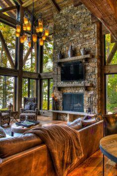 Devil's Lake residence, MN. Lands End Development -... | Georgiana Design | Bloglovin'