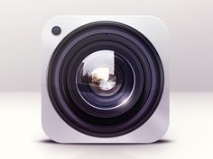 Dribbble - Camera Icon Design by Dash