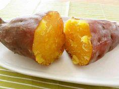 ホクホクねっとり自由自在☆炊飯器で焼き芋の画像