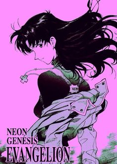 Image via We Heart It https://weheartit.com/entry/142705282/via/14444344 #evangelion #misato #katsuragi