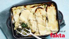 Lasagne med spinat og aubergine