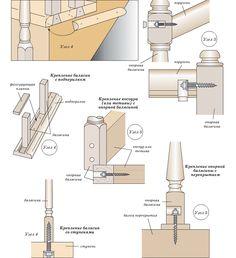 Как самому установить балясины на деревянную лестницу в доме