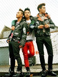 Taeyang , G-Dragon and TOP ♡ #BIGBANG
