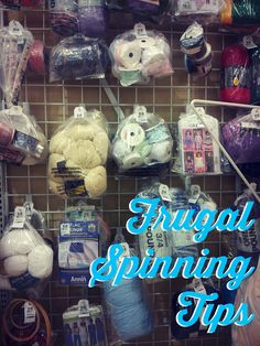 Be Frugal: 5 Tips for Spinning Yarn on a Budget Posted by Ashley Martineau