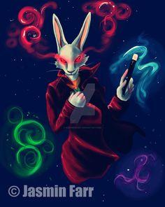 Deadpool, Rabbit, Superhero, Night, Anime, Fictional Characters, Art, Bunny, Art Background