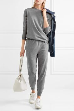 Stella McCartney - Wool Track Pants - Gray - IT44