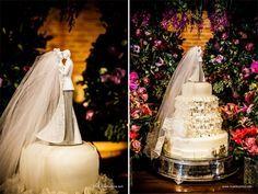 modelo de bolo e noivinhos