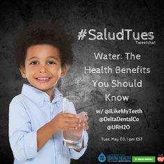 Water: The Health Benefits You Should Know- Tweetchat recap on the benefits of water!