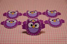 felt owl- Etsy shop has tons of cute felt designs!