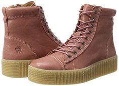 Apple of Eden Damen Rosa Hohe Sneaker: Amazon.de: Schuhe & Handtaschen