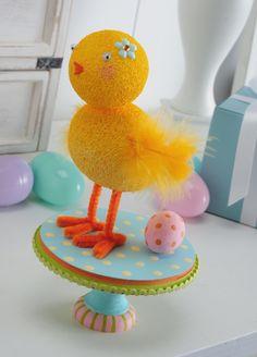 easter big chick craft
