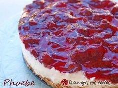 Easy Cheesecake Recipes, Sweets Recipes, Cooking Recipes, Greek Desserts, Party Desserts, Sweet Cooking, Cream Cheese Recipes, Recipes From Heaven, Healthy Sweets