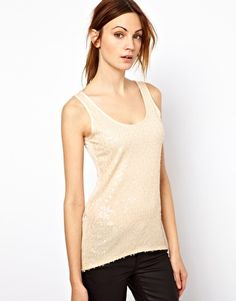 Enlarge Warehouse Sequin Front Tank