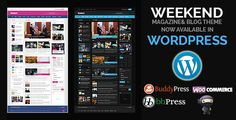 Weekend - Magazine Responsive WordPress Theme (WordPress, Blog / Magazine)