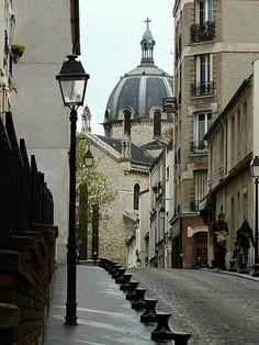 Butte aux Cailles Quarter, Paris XIII. Numerous restaurants, cafes and nightlife.