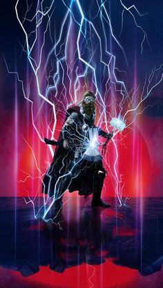 God of Thunder Thor iPhone Wallpaper Free – GetintoPik Marvel Art, Marvel Heroes, Marvel Avengers, Marvel Comics, Avengers Cartoon, Avengers Drawings, Thor Wallpaper, Iron Man Art, I Love You Drawings