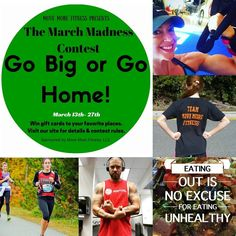 """Go big or Go Home for #TryItTuesday! It's almost time for our MARCH MADNESS challenge. To help spread the MOVEment, let's go crazy with healthy lifestyle…"""