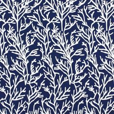 Manglar 6 – navy blue - Furnishing Fabricsfavorable buying at our shop Blue Garden, Rooftop Terrace, Outdoor Fabric, Fabric Decor, Upholstery, Navy Blue, Curtains, Nautical, Plants
