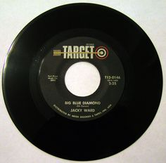 """Jacky Ward """"Big Blue Diamond""""; his first Country 40 single from August, 1972."""