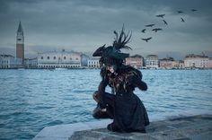Rabe, Korsett, Venedig, Empireart, Couture, Kostüme für den Karneval