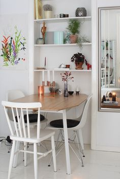 Beatiful Space // Nordic interior // cobber and white