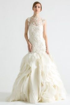 Sareh Nouri 'Field Of Love' Size 10 Retail $6,500 Our Price $700