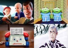 'Toy Story' y 'El resplandor'
