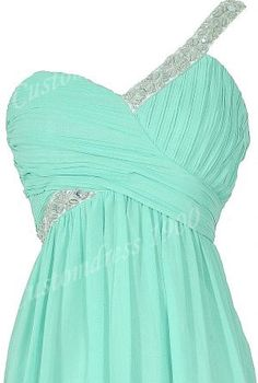 Hot Selling Short Chiffon Pleat One-shoulder prom dresses,evening dresses bridesmaid dress