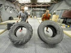 Looking for a way to step outside of the usual boring gym routines for cross-training? What about swinging sledge hammers and rolling tractor tires with Ben Kaplan?