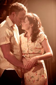 Elliot Cowan and Ruth Wilson
