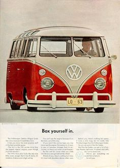 VW Campervan and Box yourself in