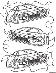 Race Car Pictures to Print | Car Coloring Pages | Cars | NASCAR ...