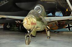 Luftwaffe Heinkel He 162A-1 Volksjager #plane #WW2