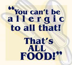 All about food allergies and recipes for wheat free, dairy free, sugar free, soy free cooking!!