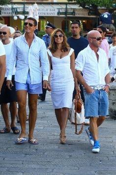 Eva #Mendes a #portofino #celebrity #fashion #shopping #relax