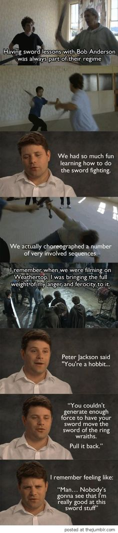 Know you're role hobbit