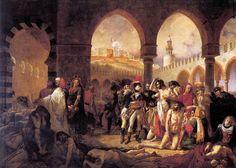 Antoine Jean Gros, Bonaparte visitant les pestiférés de Jaffa, 1804