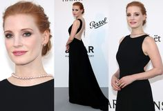 Jessica Chastain Cannes 2017 black dress