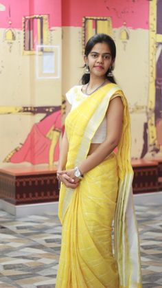 Lenin cotton saree