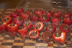 Recipes We Love: Inside Out Chocolate Strawberries