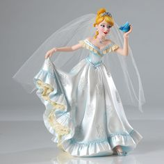 Disney Showcase Couture de Force Cinderella Bridal Figurine Enesco 4045443 NIB #DisneyShowcase