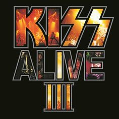 Kiss ~ Alive III With Alive! Kiss created one of the most exciting and essential live albums of all time. Its 1977 sequel, Alive II, failed to measure up for a I Love It Loud, I Still Love You, Kiss Alive Iii, Cd Cover, Album Covers, Cover Art, Heavens On Fire, Detroit Rock City, Paul Stanley