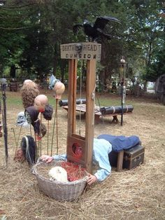 Image result for ideas for halloween haunted trail
