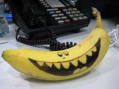 Fruit of the Spirit: Banana Joy! Fruit Of The Spirit, New Fruit, Fruit Art, Cute Food, Good Food, Funny Fruit, Banana Art, Boite A Lunch, Food Humor