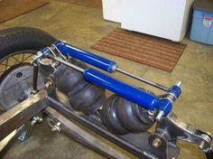 Cantilever front suspension